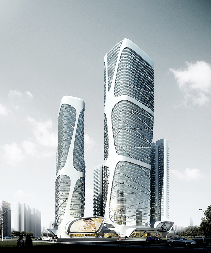 foshan new city mass transit center amphibianarc