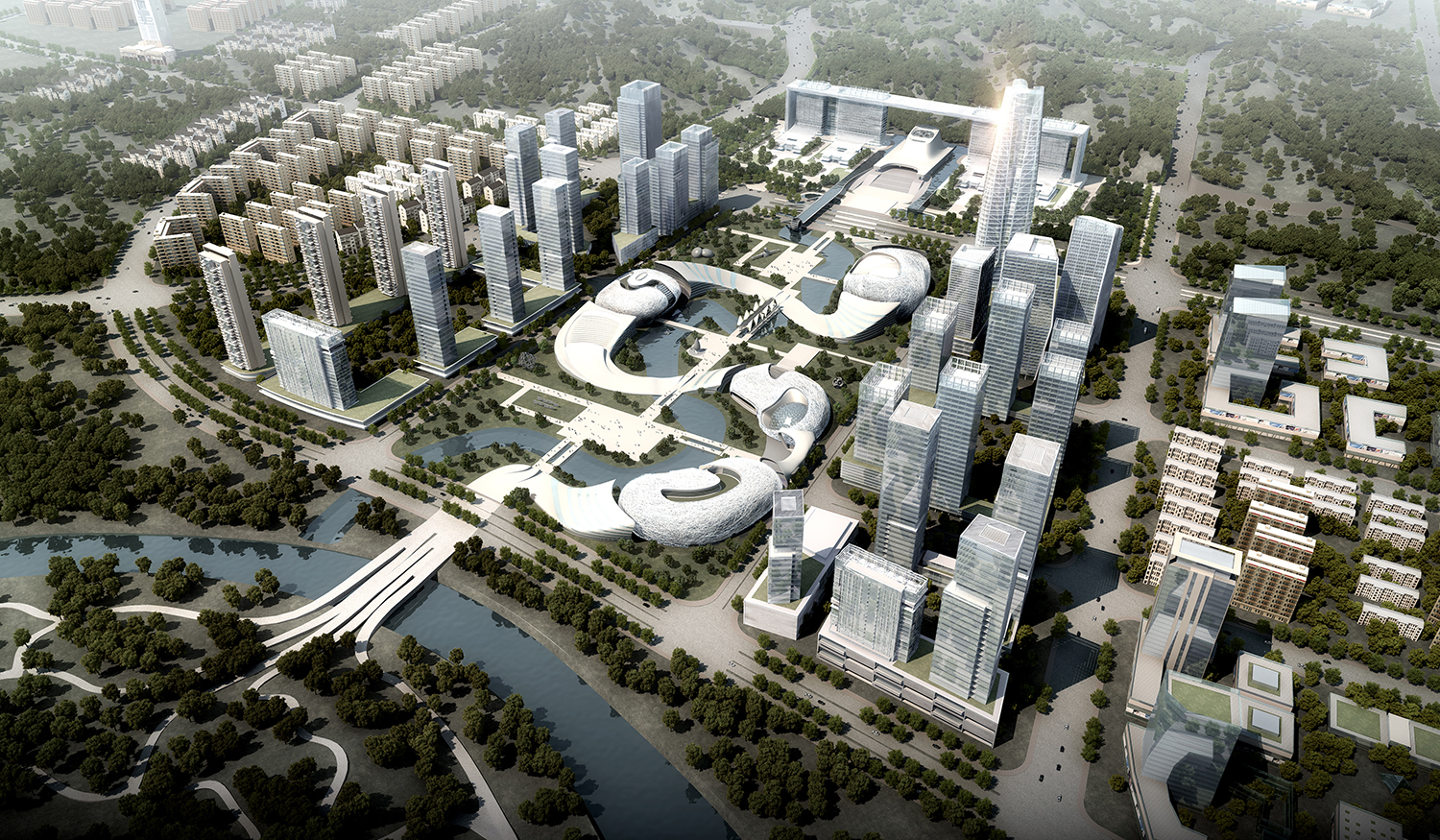 Yichang New District Master Plan Amphibianarc