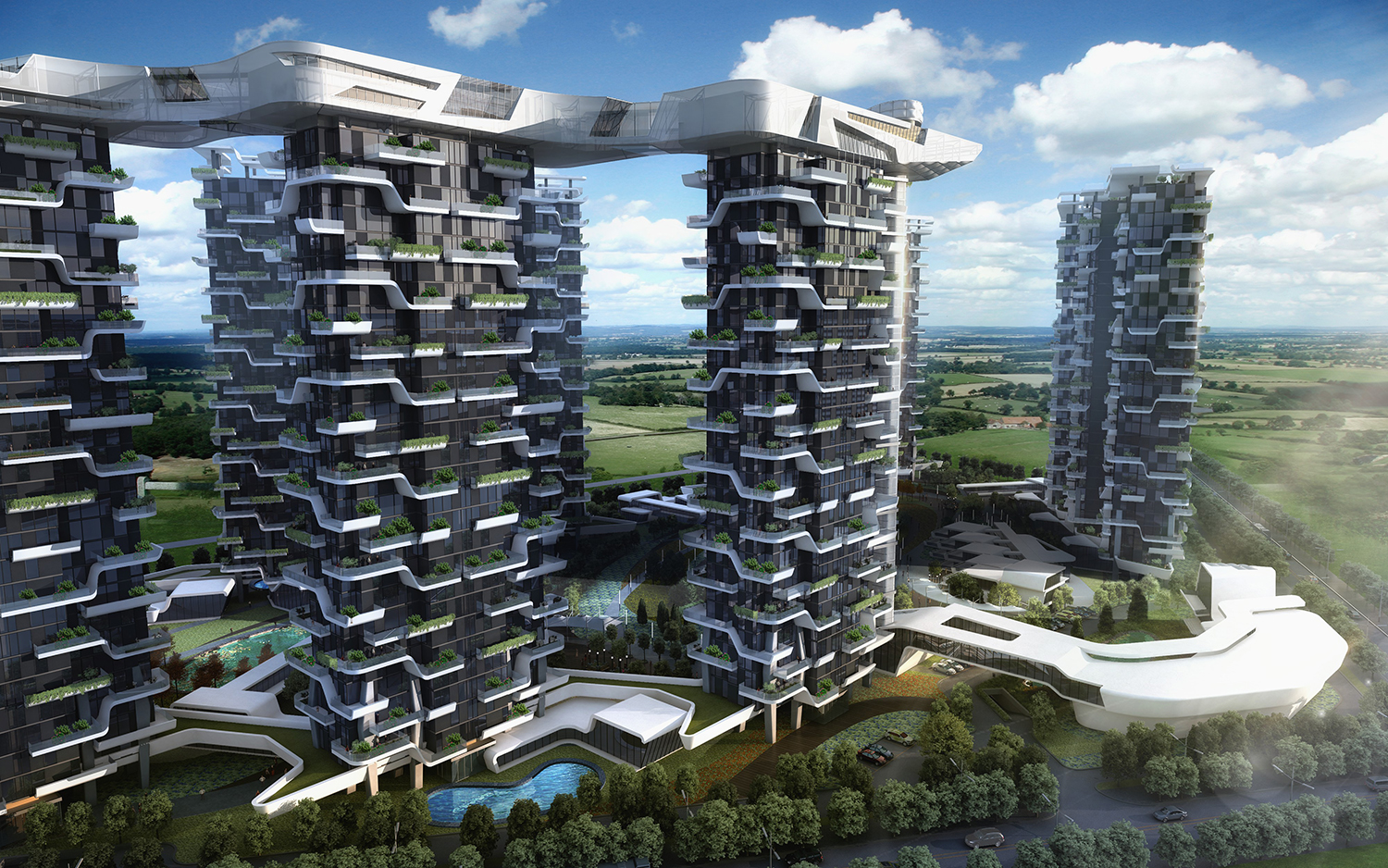 Hanhai Luxury Condominiums Amphibianarc