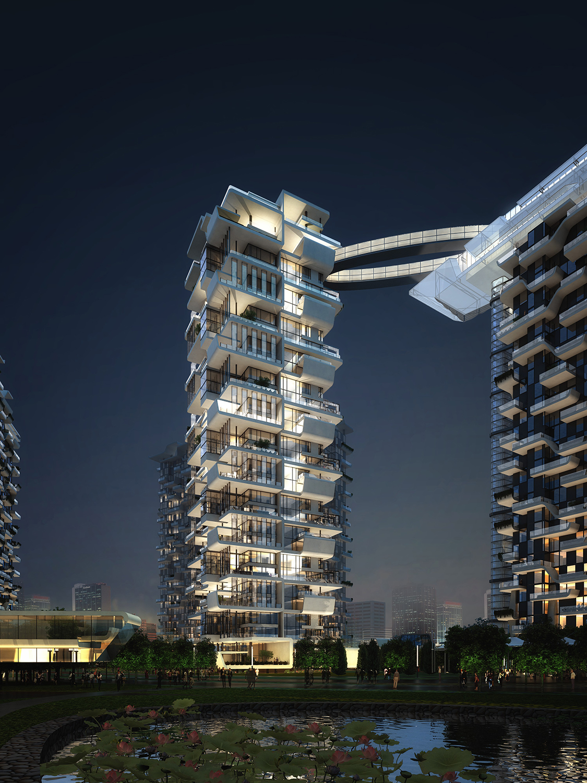 Hanhai Luxury Condominiums Amphibianarc
